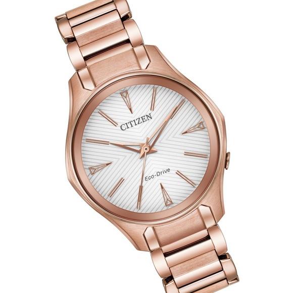 1f36dca5e141f1 Citizen Accessories   Modena Econdrive Rose Goldtone Watch   Poshmark